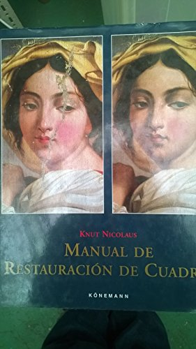 9783895086496: Manual de restauracion de cuadros
