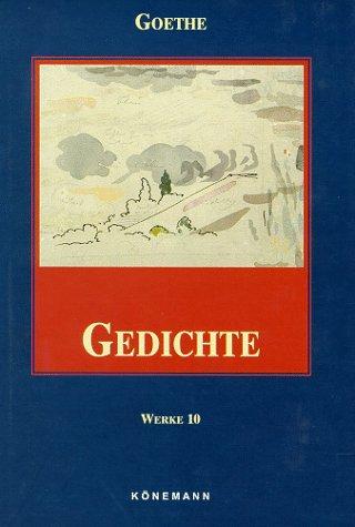 9783895086717: Goethe 10 - Gedichte