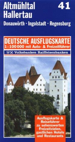 9783895132414: Altmühltal, Hallertau 1 : 100 000. Deutsche Ausflugskarte. Blatt 41