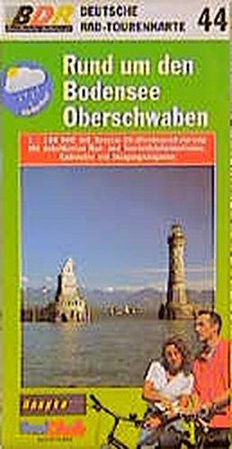 Deutsche Radtourenkarte 44. Rund um den Bodensee,: August Graf von