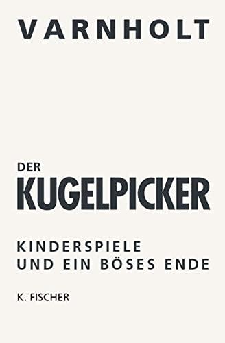 9783895145735: Der Kugelpicker