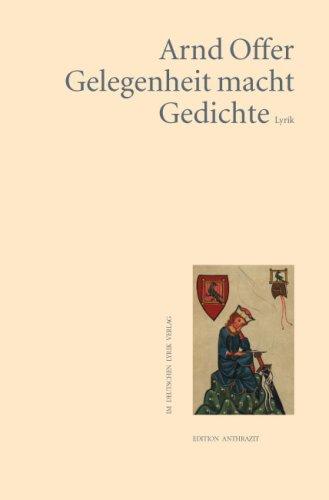 9783895148347: Gelegenheit macht Gedichte: Lyrik (Livre en allemand)