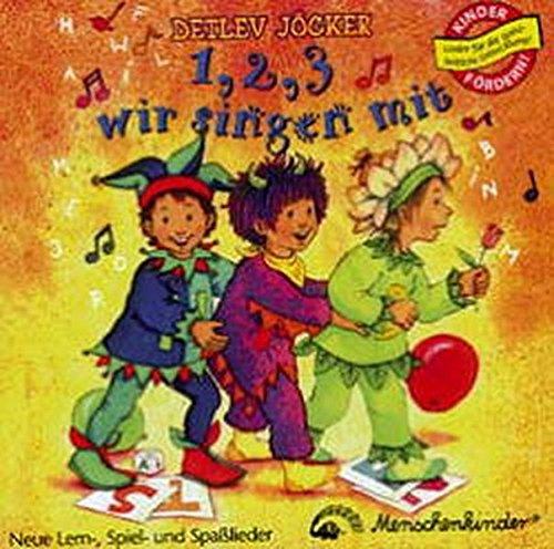 9783895161469: Eins, zwei, drei wir singen mit. CD: Neue Lern-, Spiel- und Spaßlieder