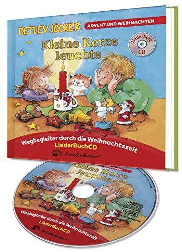 9783895161742: Kleine Kerze leuchte. CD und Buch: H�rbuch mit Geschichten