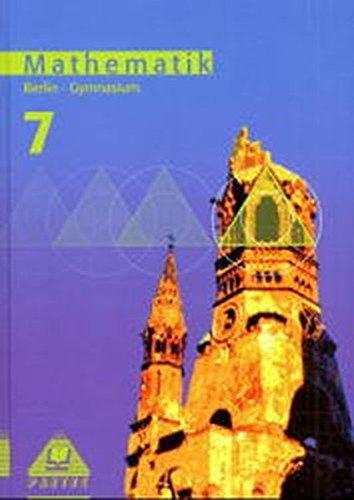 9783895171826: Mathematik 7. Lehrbuch. Berlin.