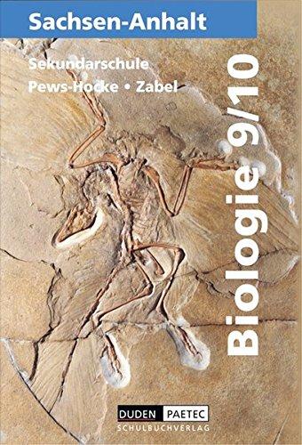 9783895178863: Biologie 9/10. Sachsen-Anhalt. Sekundarschule