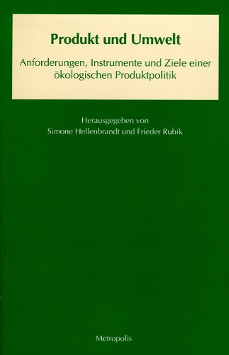 9783895180033: Produkt und Umwelt