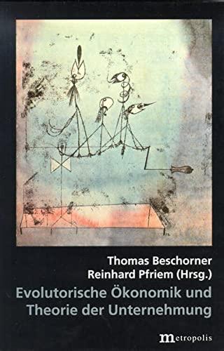 9783895183119: Evolutorische �konomik und Theorie der Unternehmung