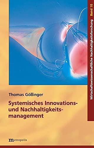 9783895188275: Systemisches Innovations- und Nachhaltigkeitsmanagement