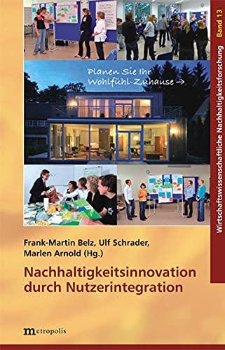 9783895188503: Nachhaltigkeitsinnovation durch Nutzerintegration