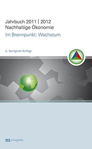 9783895189579: Jahrbuch Nachhaltige Ökonomie: im Brennpunkt