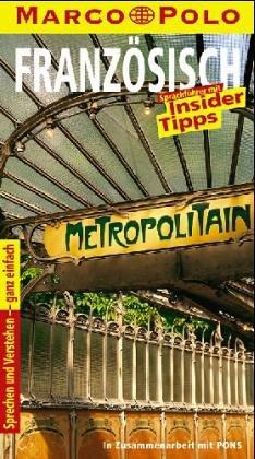 9783895250460: Marco Polo Sprachführer, Französisch