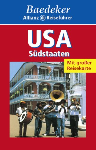 9783895251443: Baedeker Allianz Reiseführer USA Südstaaten