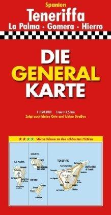 9783895252259: Generalkarte Großblatt Teneriffa 1 : 150 000: La Palma - Gomera - Hierro (Marco Polo Regional Maps: Spain)