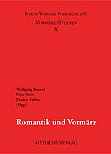Romantik und Vormärz: Wolfgang Bunzel