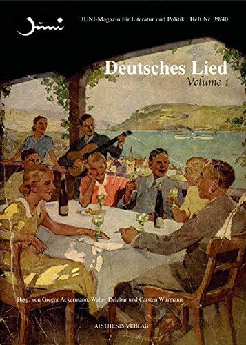 9783895286254: Deutsches Lied: JUNI Hefte 39/40 und 41/42 (Livre en allemand)