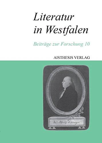 9783895287824: Literatur in Westfalen 10: Beiträge zur Forschung