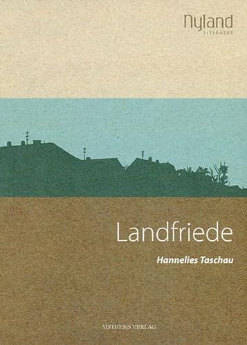 9783895289156: Landfriede