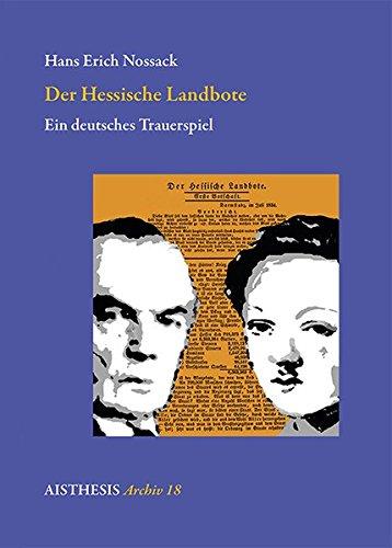 9783895289897: Der Hessische Landbote: Ein deutsches Trauerspiel