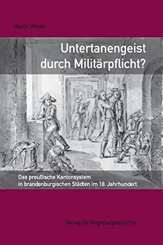 Untertanengeist durch Militärpflicht?: Martin Winter