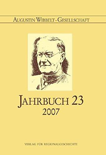 Augustin Wibbelt-Gesellschaft - Jahrbuch 23/2007
