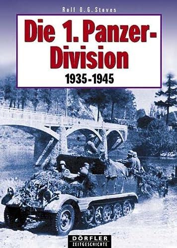 9783895550423: Die 1. Panzerdivision 1935-1945