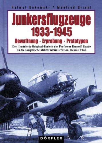 9783895558672: Junkersflugzeuge 1933 - 1945.
