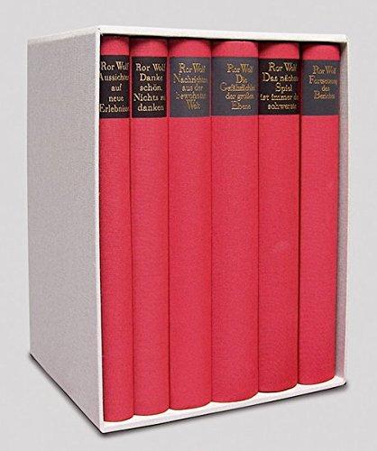 9783895613234: Ror Wolf Werkausgabe in sechs Bänden