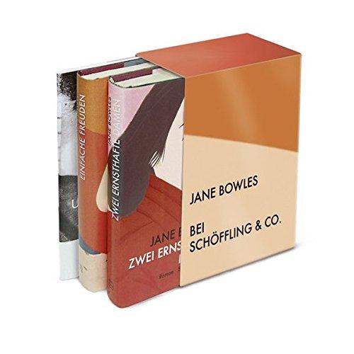 Gesammelte Werke. 3 Bände: Jane Bowles