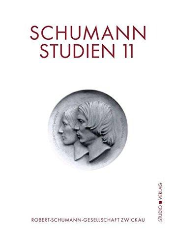 9783895641671: Schumann-Studien 11