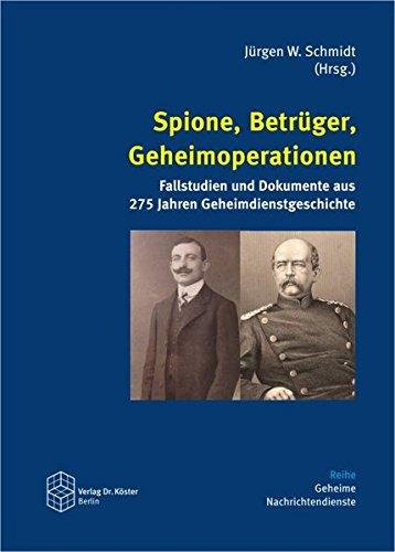 9783895748905: Spione, Betrüger, Geheimoperationen