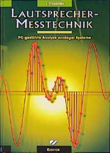 9783895760907: Lautsprecher-Meßtechnik: PC-gestützte Analyse analoger Systeme