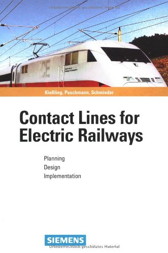9783895781520: Contact Lines for Electric Railways: Planning, Design, Implementation