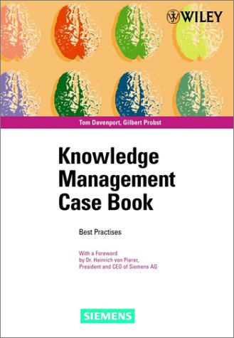 9783895781599: Knowledge Management Case Book: Siemens Best Practises