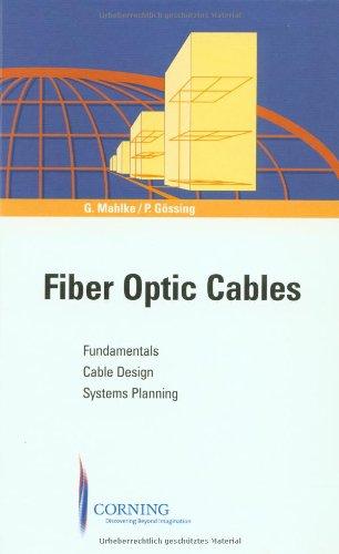 9783895781629: Fiber Optic Cables, 4th Edition