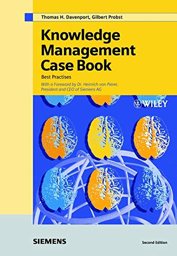 9783895781810: Knowledge Management Case Book: Siemens Best Practises