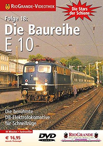 9783895806599: Die Baureihe E 10 [Alemania] [DVD]