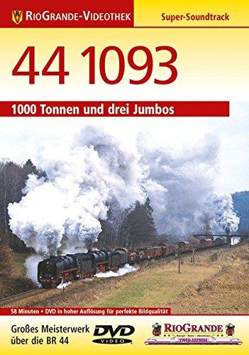 9783895807428: 44 1093 - 1000 Tonnen und drei Jumbos [Alemania] [DVD]