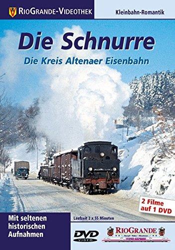 9783895808173: Die Schnurre - Die Kreis Altenaer Eisenbahn [Alemania] [DVD]