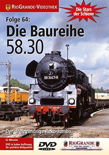 9783895808388: Die Stars der Schiene 64: Die Baureihe 58.30 [Alemania] [DVD]