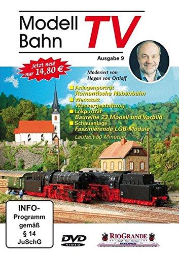 Modellbahn-Tv, 1 Dvd: Ausg.9 - Moderiert V. Hagen Von Ortloff; Ortloff, Hagen Von