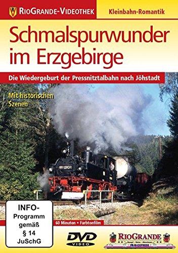 9783895808821: Schmalspurwunder im Erzgebirge - Die Wiedergeburt der Pressnitztalbahn nach Jöhstadt [Alemania] [DVD]