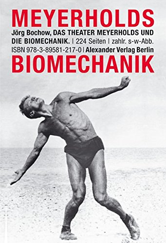 9783895812170: Das Theater Meyerholds und die Biomechanik