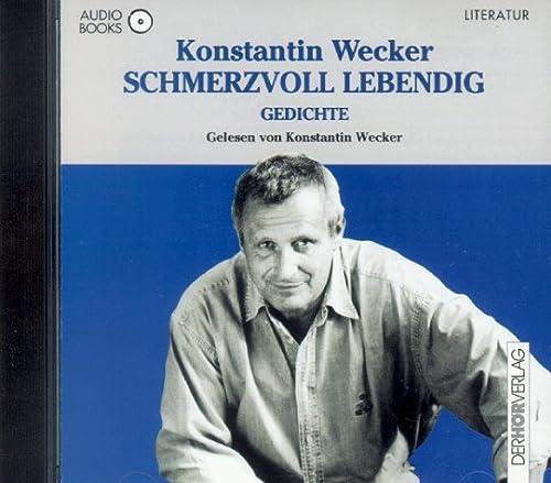 9783895845413: Schmerzvoll Lebendig Gedichte CD (German Edition)