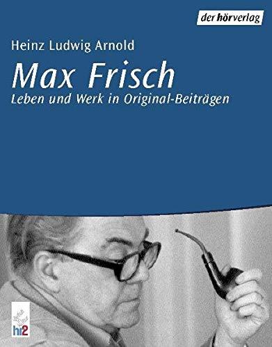 9783895845765: Max Frisch