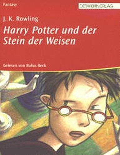 Harry Potter und der Stein der Weisen. Audiobook. 6 Cassetten. Sonderausgabe. (3895846082) by Joanne K. Rowling; Rufus Beck