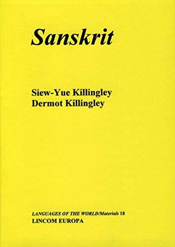 9783895860256: Sanskrit (Languages of the world. Materials)