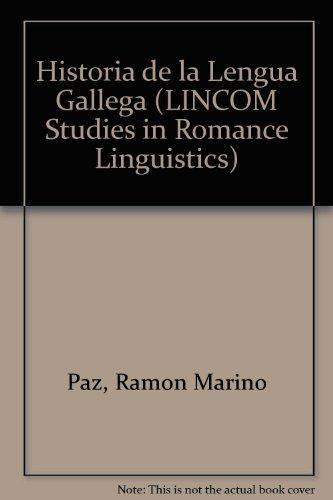 Historia de la Lengua Gallega: Paz, Ramon Marino