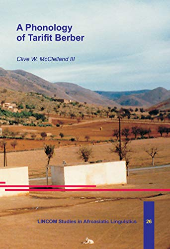 9783895861291: A Phonology of Tarifit Berber