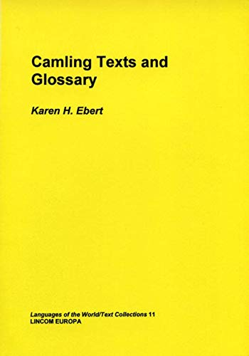 Camling texts and glossary: Ebert, Karen